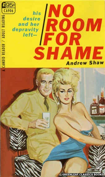 Candid Reader CA906 - No Room For Shame by Andrew Shaw, cover art by Unknown (1967)