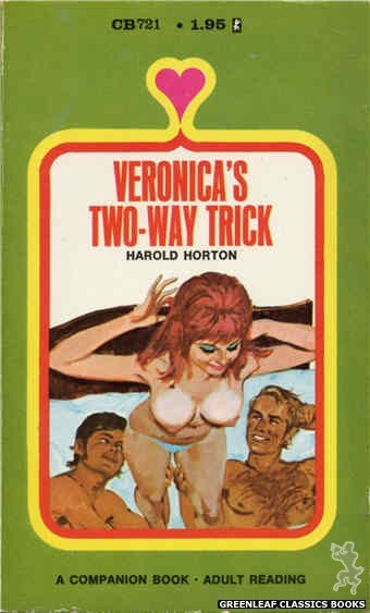 Companion Books CB721 - Veronica's Two-Way Trick by Harold Horton, cover art by Unknown (1971)