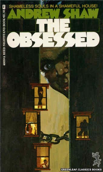 Reed Nightstand 4009 - The Obsessed by Andrew Shaw, cover art by Robert Bonfils (1974)