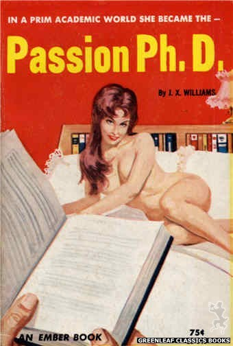 Ember Books EB945 - Passion Ph.D. by J.X. Williams, cover art by Unknown (1964)