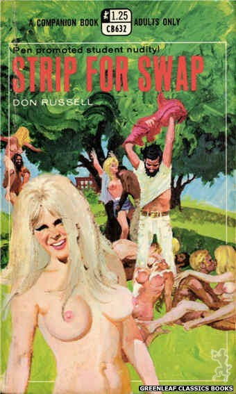 Companion Books CB632 - Strip for Swap by Don Russell, cover art by Robert Bonfils (1969)