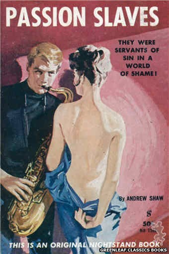 Nightstand Books NB1563 - Passion Slaves by Andrew Shaw, cover art by Harold W. McCauley (1961)