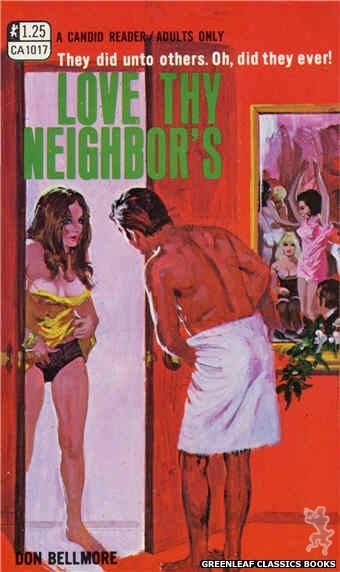 Candid Reader CA1017 - Love Thy Neighbor's by Don Bellmore, cover art by Robert Bonfils (1970)