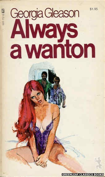 Midnight Reader 1974 MR7516 - Always A Wanton by Georgia Gleason, cover art by Unknown (1974)