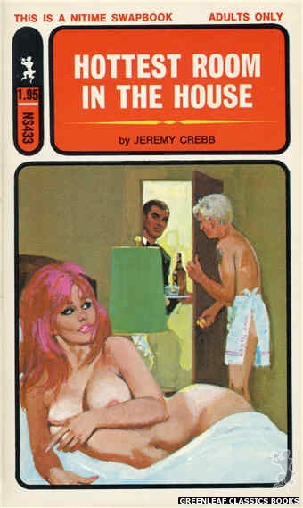 Nitime Swapbooks NS433 - Hottest Room In The House by Jeremy Crebb, cover art by Robert Bonfils (1971)