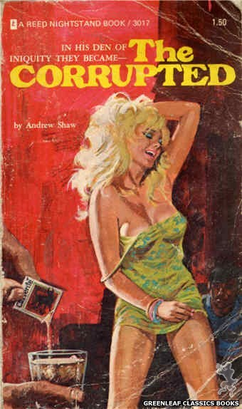 Reed Nightstand 3017 - The Corrupted by Andrew Shaw, cover art by Unknown (1973)