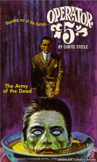 Corinth Regency CR120 - The Army of the Dead by Curtis Steele, cover art by Robert Bonfils (1966)