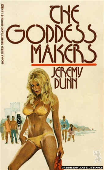 Reed Nightstand 4006 - The Goddess Makers by Jeremy Dunn, cover art by Ed Smith (1974)