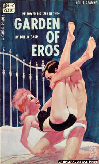 Candid Reader CA935 - Garden Of Eros by Mullin Garr, cover art by Darrel Millsap (1968)