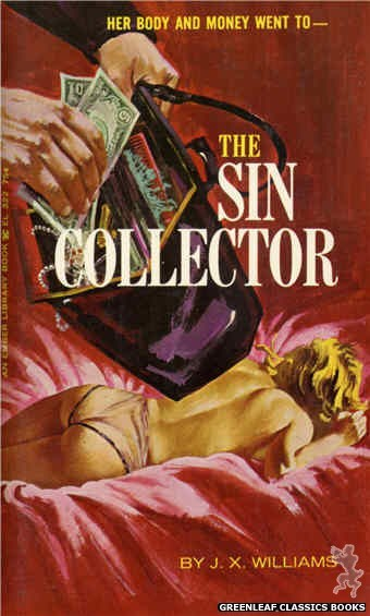 Ember Library EL 322 - The Sin Collector by J.X. Williams, cover art by Robert Bonfils (1966)