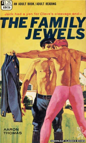 Adult Books AB456 - The Family Jewels by Aaron Thomas, cover art by Darrel Millsap (1968)