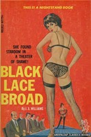 NB1812 Black Lace Broad by J.X. Williams (1966)