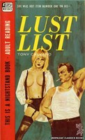 NB1845 Lust List by Tony Calvano (1967)