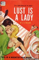 NB1843 Lust Is A Lady by J.X. Williams (1967)