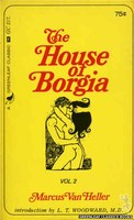 GC217 The House of Borgia, Vol. 2 by Marcus Van Heller (1966)