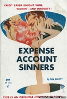 NB1558 Expense Account Sinners by Don Elliott (1961)