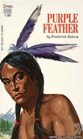 PR361 Purple Feather by Frederick Raborg (1972)