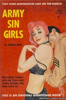 NB1569 Army Sin Girls by Andrew Shaw (1961)