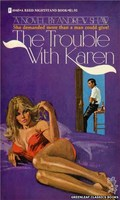 4048 The Trouble With Karen by Andrew Shaw (1974)