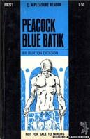 PR271 Peacock Blue Batik by Burton Dickson (1970)