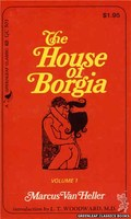 GC501 The House Of Borgia Volume 1 by Marcus Van Heller (1974)