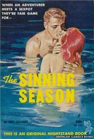 NB1561 The Sinning Season by Tony Calvano (1961)