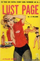 PB837 Lust Page by J.X. Williams (1964)