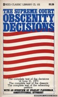 CL102 The Supreme Court Obscenity Decisions by Stanley Fleishman (1974)