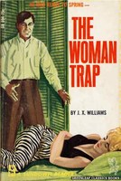 SR594 The Woman Trap by J.X. Williams (1966)