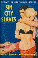 NB1650 Sin City Slaves by William Kane (1963)
