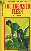 PR196 The Frenzied Flesh by J.X. Williams (1968)