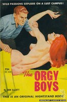 NB1633 The Orgy Boys by Don Elliott (1962)