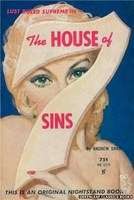 NB1575 The House of 7 Sins by Andrew Shaw (1961)
