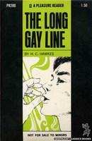 PR280 The Long Gay Line by H.C. Hawkes (1970)