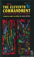 RB113 The Eleventh Commandment by Lester del Rey (1962)