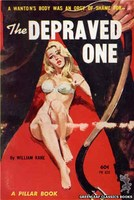 PB822 The Depraved One by William Kane (1964)