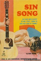 NB1562 Sin Song by John Dexter (1961)