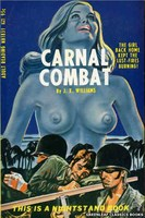 NB1831 Carnal Combat by J.X. Williams (1967)
