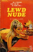LB1137 Lewd Nude by Clyde Allison (1966)