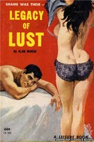 LB604 Legacy of Lust by Alan Marsh (1963)