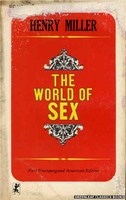 GC110 The World of Sex by Henry Miller (1965)