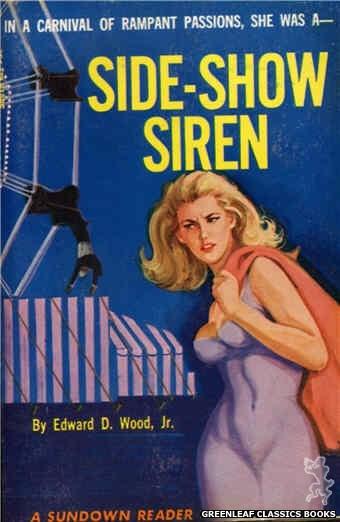 Sundown Reader SR618 - Side-Show Siren by Edward D. Wood, Jr., cover art by Unknown (1966)