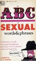 An ABC of Sexual Words & Phrases